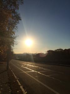 Sunrise over Boston 11.13.14