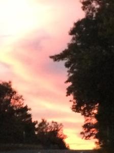 Sunset 10.28.14