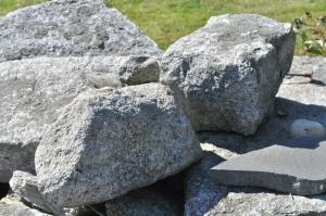Rocks on wall 09.28.14