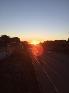 Sunrise on Rte. 2 10.30.15