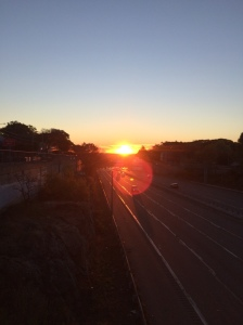 Sunrise on Rte. 2 10.30.15