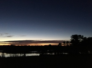 Sunrise, Waldoboro, ME 11.10.17